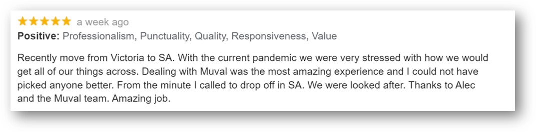 muval movingstress customer review