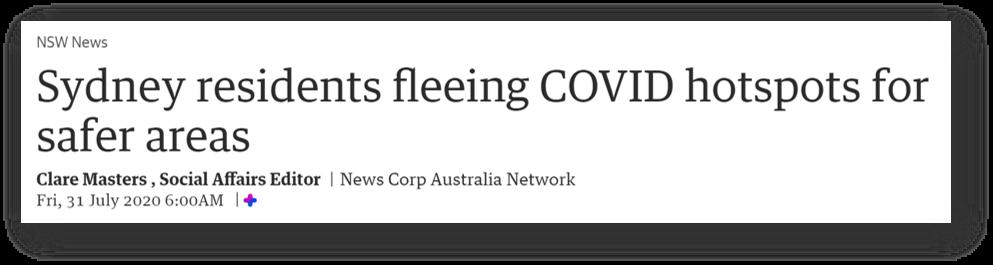 newscorp sydney headline